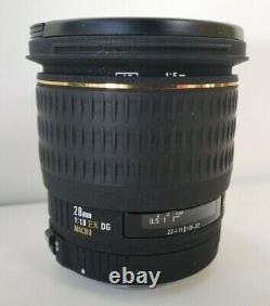 Sigma Single-focus Grand Angle Lens 28mm F1.8 Ex Dg Aspherical Macro Full-size Co