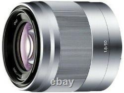 Sony E 50mm F1.8 Oss Lens Sel50f18 Japan Ver. Nouveau / Livraison Gratuite