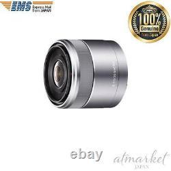 Sony E-mount 30mm F3.5 Simple Focus Macro Lens Sel30m35 Du Japon Ems F/s