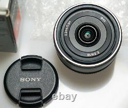 Sony Lentille De Mise Au Point Unique E 16mm F2.8 Pour Sony E Montage Aps-c Dédié Sel16f28