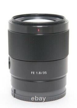 Sony Mise Au Point Unique Objectif Fe 35mm F1.8 Sel35f18f Pour Sony E Mont Agrandir