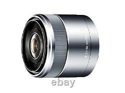 Sony Objectif Macro À Mise Au Point Unique E 30mm F3.5 Macro Sel30m35 Du Japon F/s