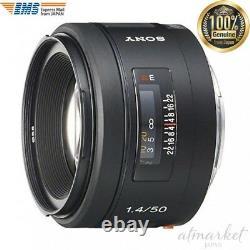 Sony Sal50f14 Objectif De La Caméra À Foyer Unique 50mm F1.4 Pleine Grandeur Compatible À Partir Du Japon