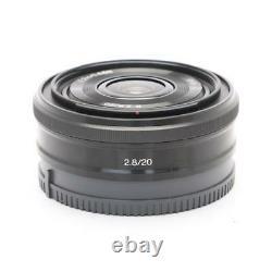 Sony Sel20f28 Single Focus Lens E 20 MM F 2.8 Aps-c Pour Sony E Mount New