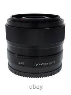 Sony Sel35f18 Objectif De Mise Au Point Unique E 35 MM F 1.8 Oss Pour Sony E Monter Aps-c Seulement