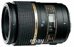 Tamron Objectif Unique Sp Af90mm F2.8 DI Macro 11 Pour Canon Pleine Taille 272ee