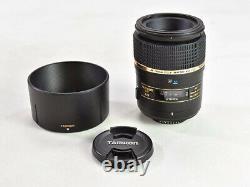Tamron Objectif Unique Sp Af90mm F2.8 DI Macro 11 Pour Nikon Pleine Taille 272enii
