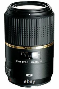 Tamron Single Focus Macro Lens Sp 90mm F2.8 DI Macro 1 1 Usd Sony Pour Pleine Grandeur