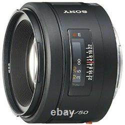 Utilisé Sony Single Focus Lens 50mm F1.4 Sal50f14 Full Size Compatible Ems