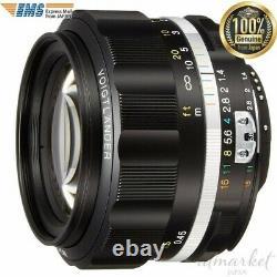 Voightlander Unique Objectif De Mise Au Point 231634 Nokton 58mm F1.4 Sliis Ai-s Monture Nikon F