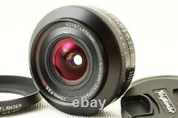 Voigtlande Voigtlander Color-skopar 20mm F3.5 Sl II Asph Canon Ef One Focus L