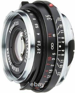 Voigtlander Couleur Skopar 35mm F2.5 Pii 130715 L'objectif Unique À Grand Angle