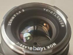 Voigtlander Nokton Classic 35mm F1.4 II MC VM Légèrement Utilisé