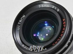 Voigtlander Ultron 28mm F1.9 Leica L39 Excellent Du Japon (18451)