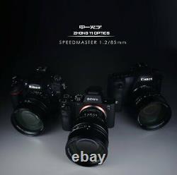 Zhong Yi Opitcs Lentille Monofocus Speedmaster 85mm F1.2